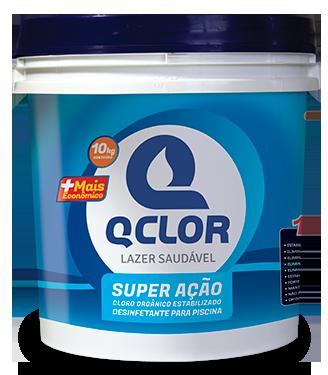 Cloro Granulado Qclor +Econ. 10kg
