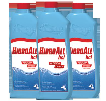 Algicida Choque Hidroall 1l