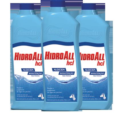 Algicida Manutenção Hidroall 1l